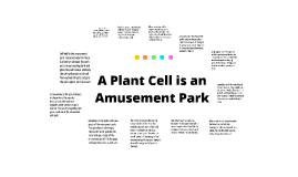 A plant cell is