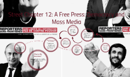 Street Chapter 12: A Free Press: Democracy and Mass Media