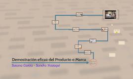 Demostración eficaz del Producto o Marca