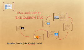 USA COP 21  AGREEMENT: THE CARBON TAX