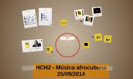 HCH2 - Musica Afrocubana