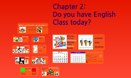 Copy of Grade 5.2.01 - Do You Have English Class Today?