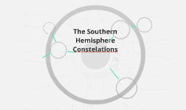 The Southern Hemisphere Constelations