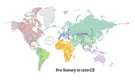 Pre-history to 1500 CE