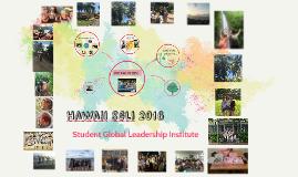 hawaii sgli 2016