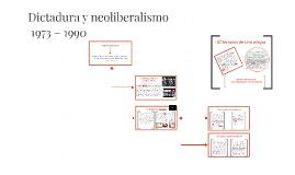 Dictadura y neoliberalismo