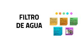 FILTRO DE AGUA