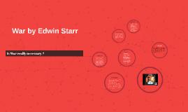 War by Edwin Starr
