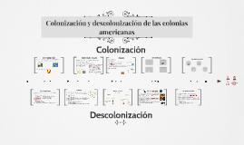 Colonización y descolonización de las colonias americanas