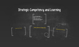 Strategic Competency and Learning
