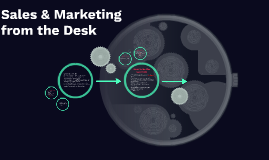 Sales & Marketing from the Desk