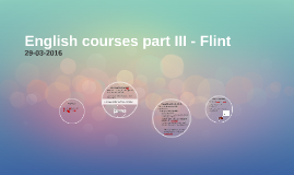 English Courses Part III