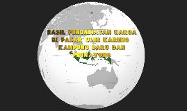 HASIL PENGAMATAN DI PASAR ULEE KARENG , KAMPUNG BARU DAN PEU