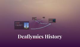 Deaflymics History