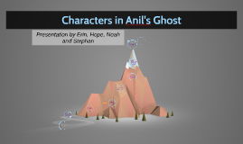 Characters in Anil's Ghost