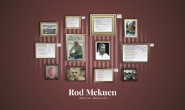 Rod Mckuen: Analyzing the Poet's Style