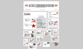 ALLTAG & LEBENSBILDER IN DER DDR