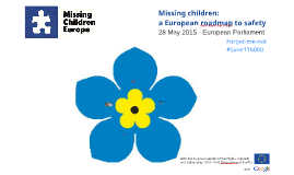 Missing children: a European roadmap to safety