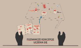 Copy of Copy of POZNAWCZE KONCEPCJE UCZENIA SIĘ
