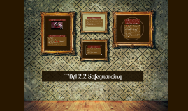 Copy of TDA 2.2 Safrguarding