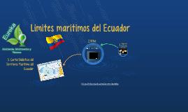 Limites Marítimos del Ecuador