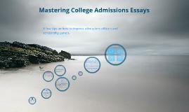 Copy of ApplyTexas Admissions Essays Presentation