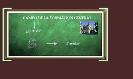 Campo de la Formación General