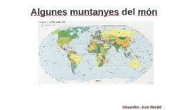 Copy of Algunes muntanyes del món (Joan Mundet)