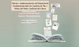 Diseño e implementación del Repositorio Institucional sobre