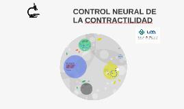 CONTROL NEURAL DE LA CONTRACTILIDAD