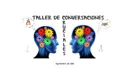 TALLER DE CONVERSACIONES