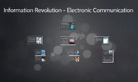 Information Revolution - 8