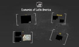 Economies of Latin America 2016
