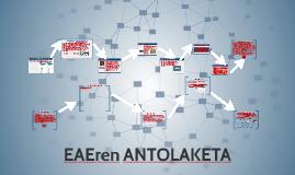 EAEren ANTOLAKETA