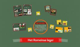 Copy of Het Romeinse leger