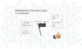PRESENTACIÓN ORAL 2014
