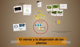 El viento y la dispersión de las plantas