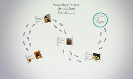 Vocabulary Photo Project