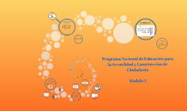 Copy of Programa Nacional de Educación para la Sexualidad y Construc