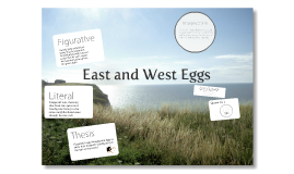 Gatsby: East and West Eggs