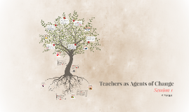 Teachers as Agents of Change - Session 1