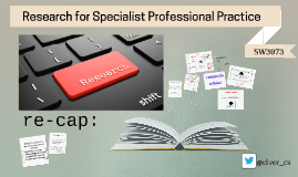 introduction Research for Specialist Professional Practice