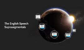 The English Speech