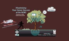 Maximizing Your Career Success at the WBG - through IDI