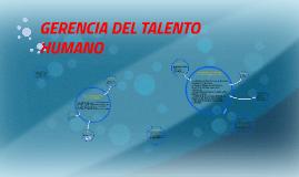 Copy of GERENCIA DE RECURSOS HUMANOS