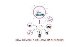 How to make a brilliant presentation
