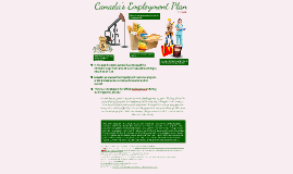 Canada's Employment Plan Poster