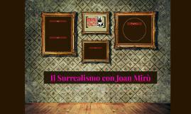 Il Surrealismo con Joan Mirò