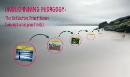 Copy of Underpinning pedagogy: