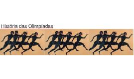 História da Olimpiada